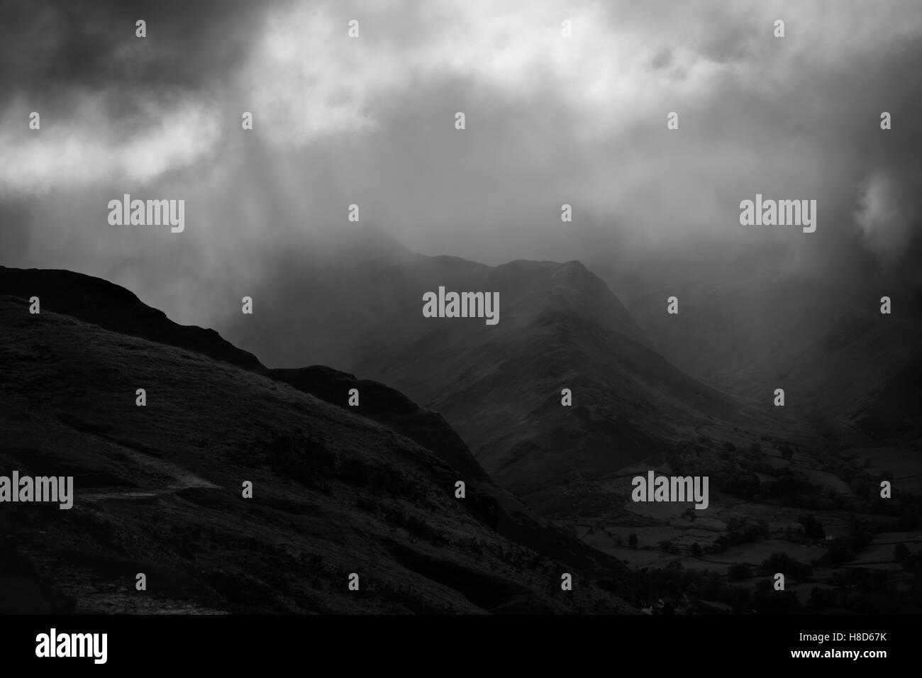 Catbells Fell - Lake District, Cumbria - Stock Image