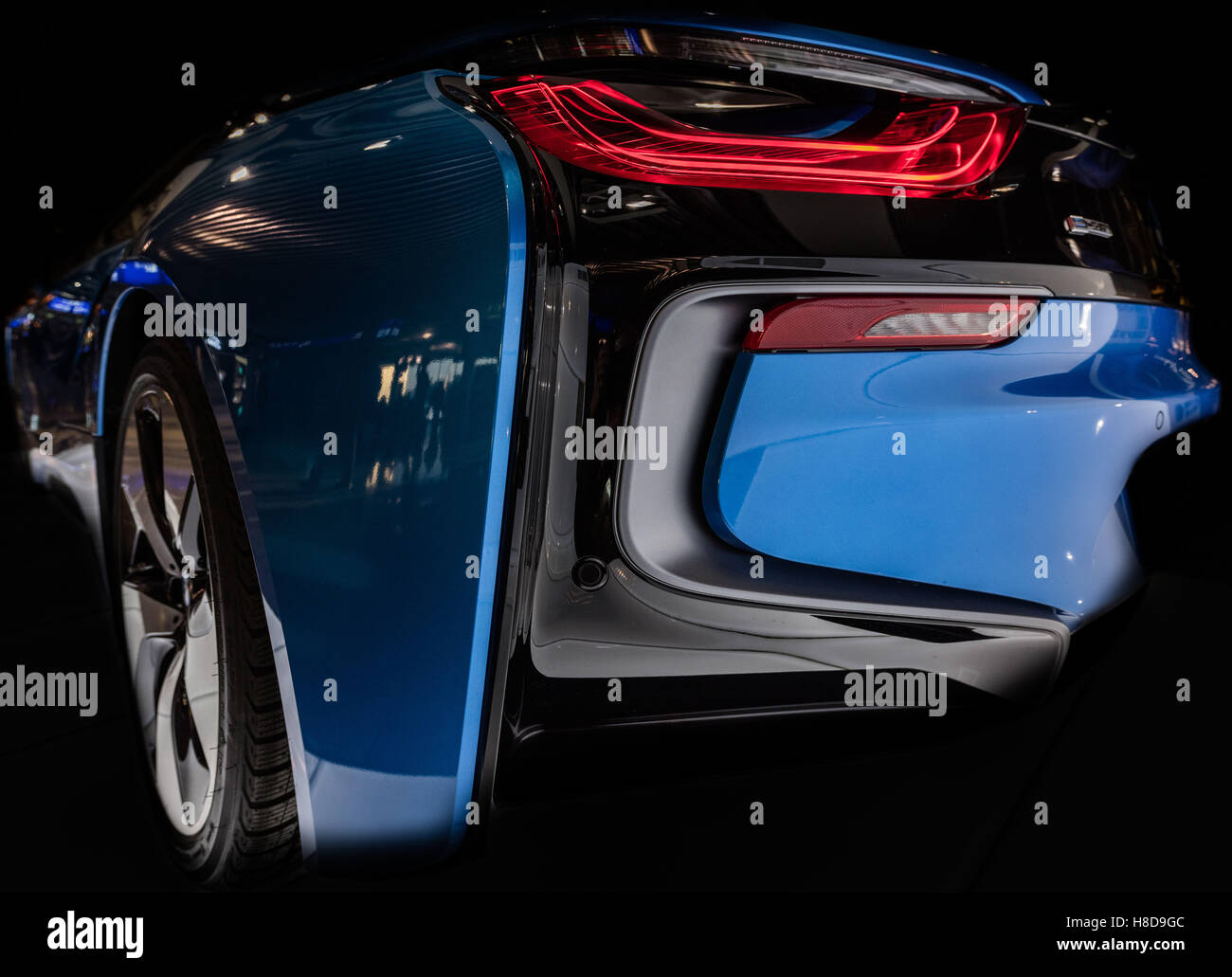 Bmw Rear Light Stock Photos Bmw Rear Light Stock Images Alamy