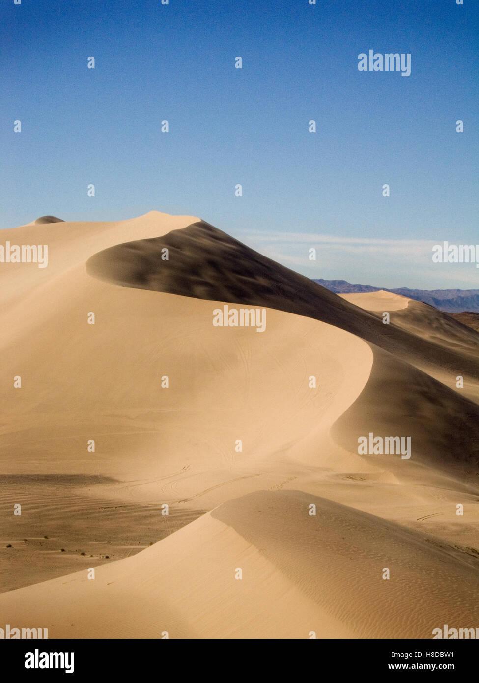 Desert Sand Dunes - Stock Image