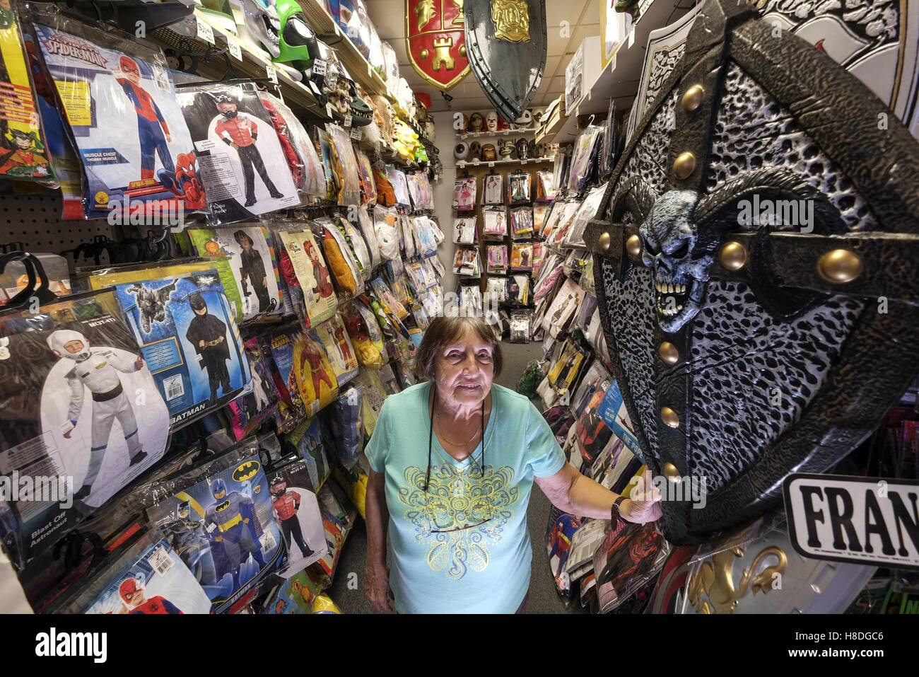 Los Angeles California USA. 17th Oct 2016. Ursula Boschet owner of Ursulau0027s Costumes in Santa Monica. © Ringo Chiu/ZUMA Wire/Alamy Live News  sc 1 st  Alamy : ursula costume santa monica  - Germanpascual.Com
