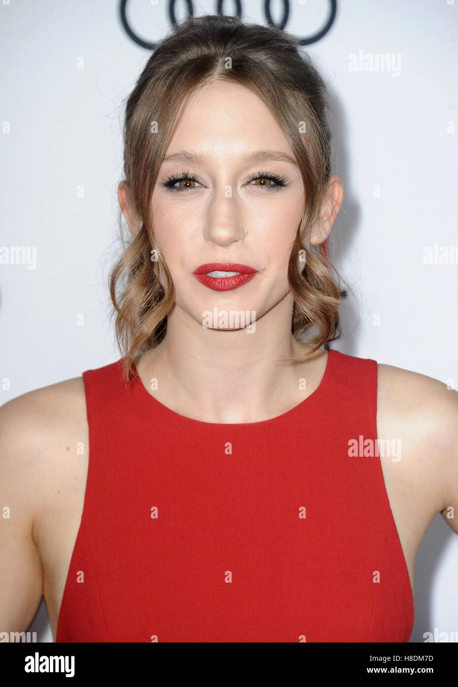 Taissa Farmiga at arrivals for RULES DON'T APPLY Premiere - AFI FEST 2016, TCL Chinese Theatre, Hollywood, CA - Stock Image