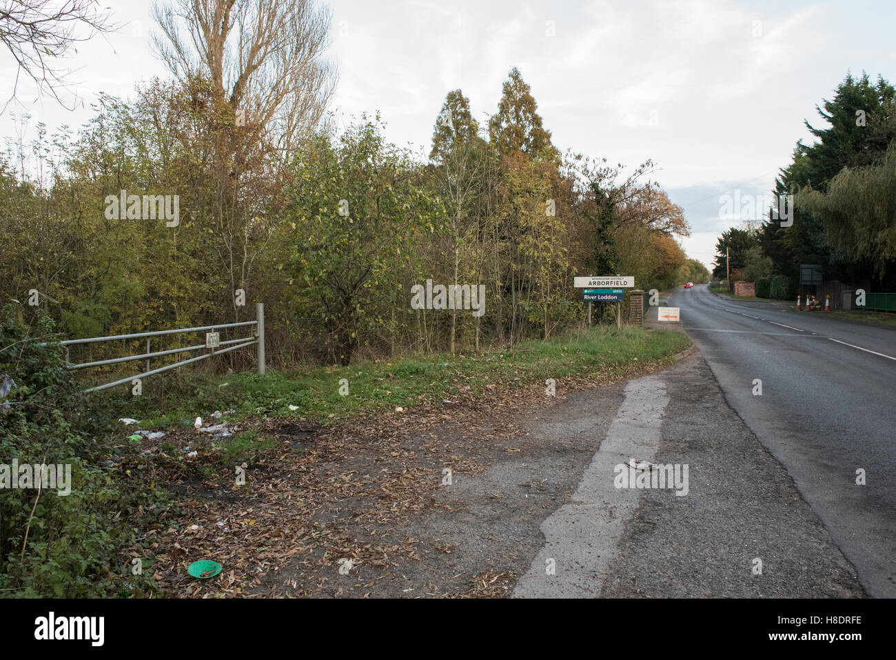 Arborfield, Berkshire. 11th November 2016. An appeal has been launched by Thames Valley Police for the twentieth - Stock Image