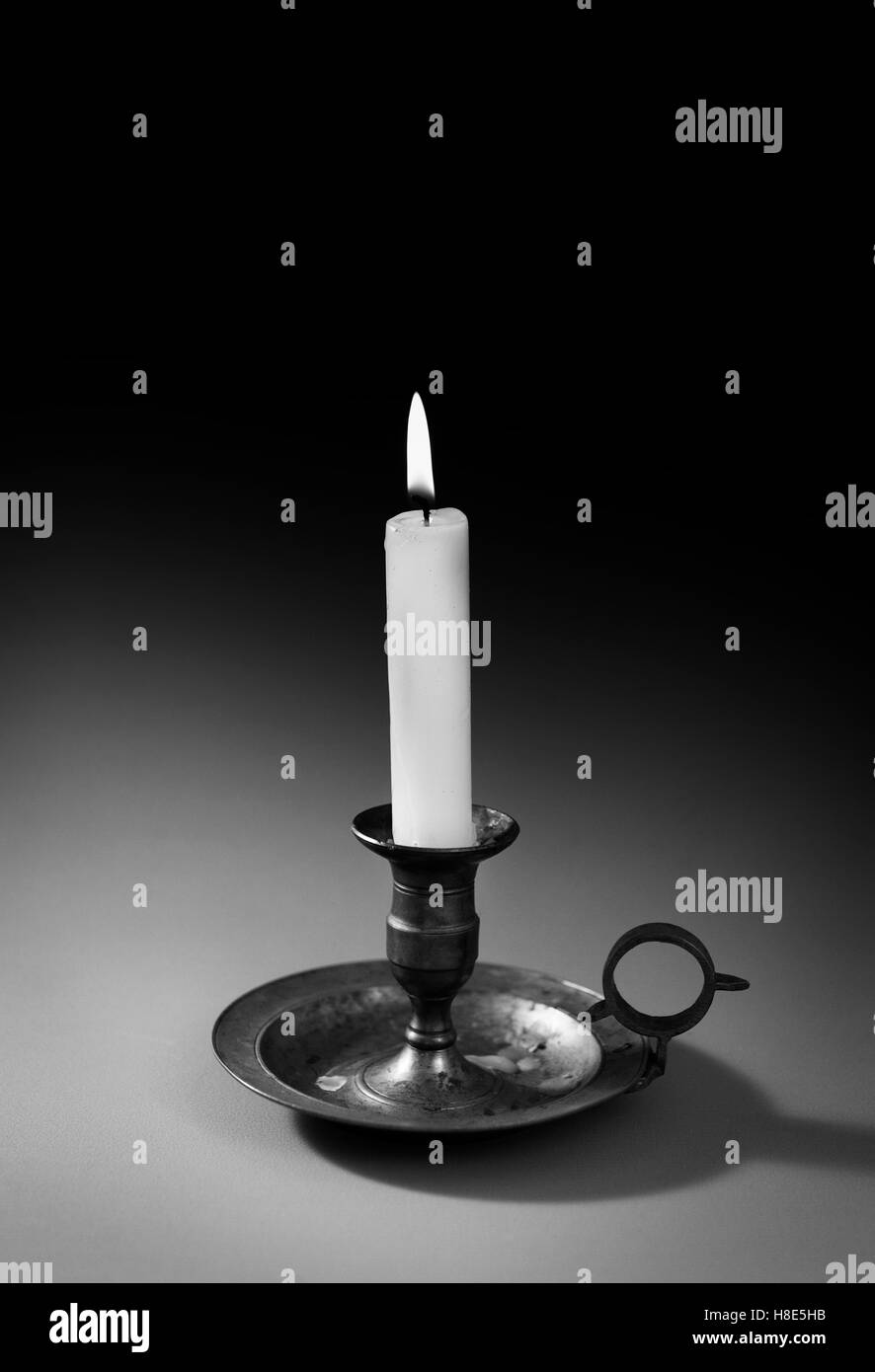 Candle Black and White Stock Photos  for candle photography black and white  35fsj