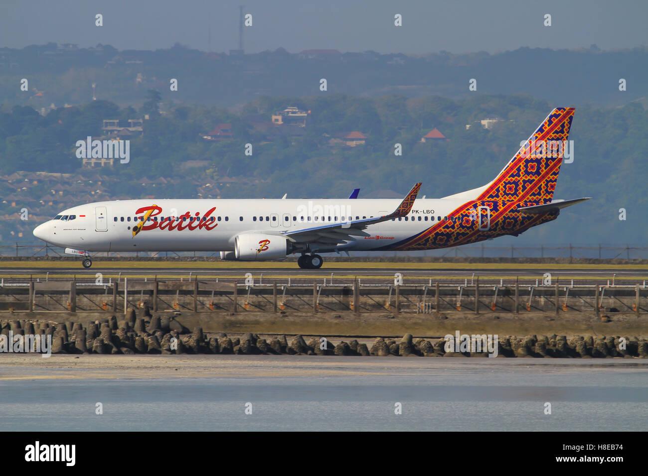 Batik Boeing 737 - Stock Image