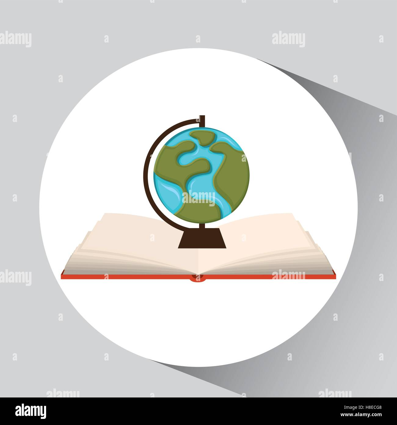 Book open globe map concept school graphic vector illustration eps book open globe map concept school graphic vector illustration eps 10 gumiabroncs Images
