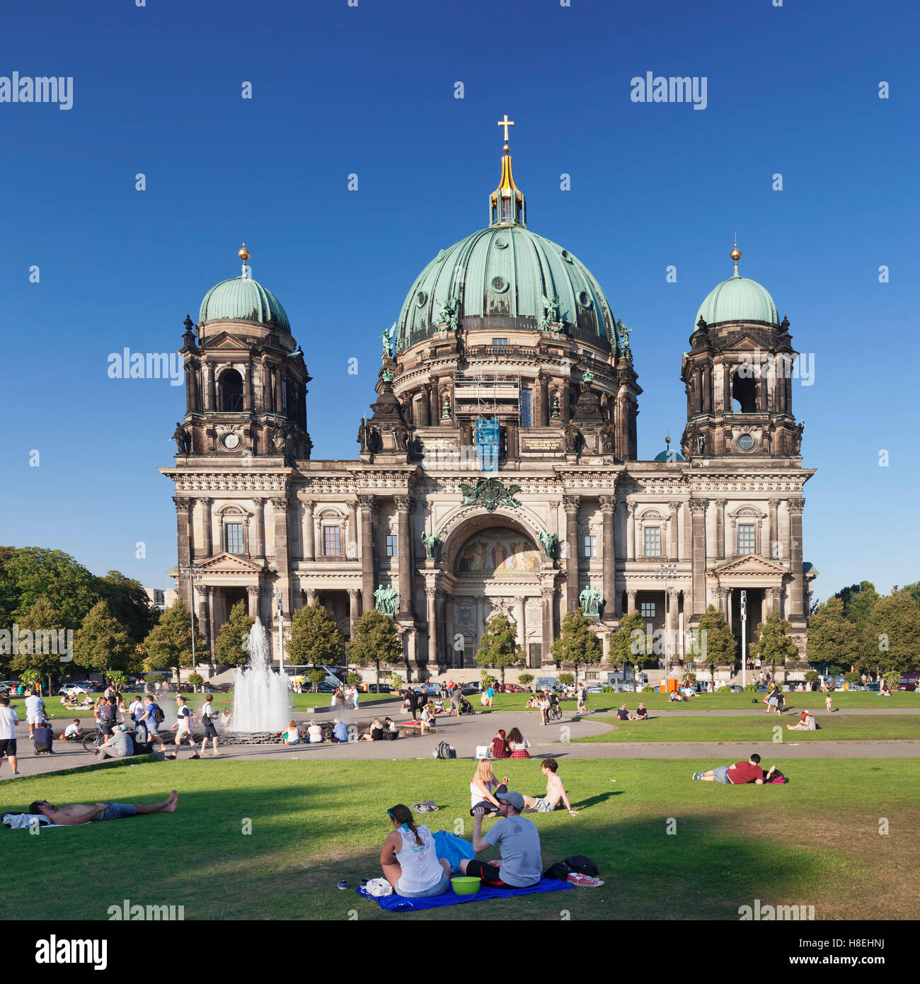 Berliner Dom (Berlin Cathedral), Museum Island, UNESCO World Heritage Site, Mitte, Berlin, Germany, Europe - Stock Image