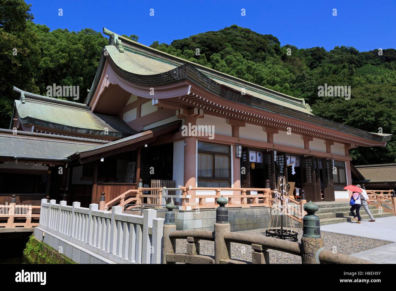 Terukuni Shrine, Kagoshima City, Kyushu Island, Japan, Asia - Stock Image