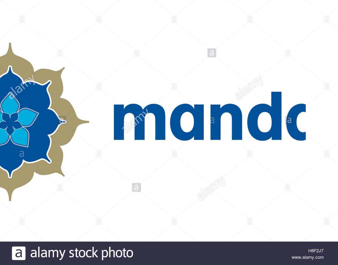 Mandala Air Airlines logo - Stock Image