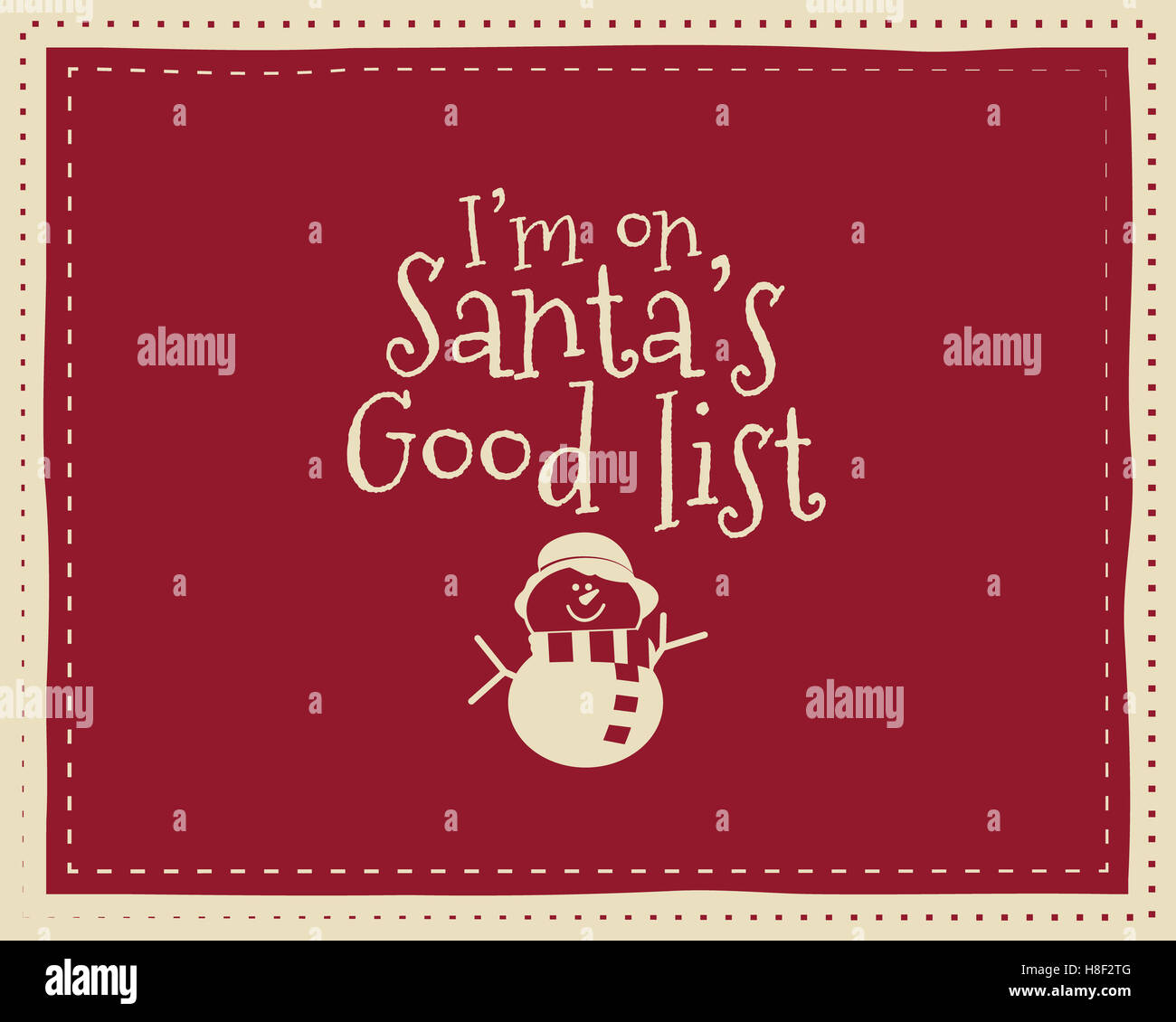 Colorful Christmas Background For Kids.Christmas Unique Funny Sign Quote Background Design For