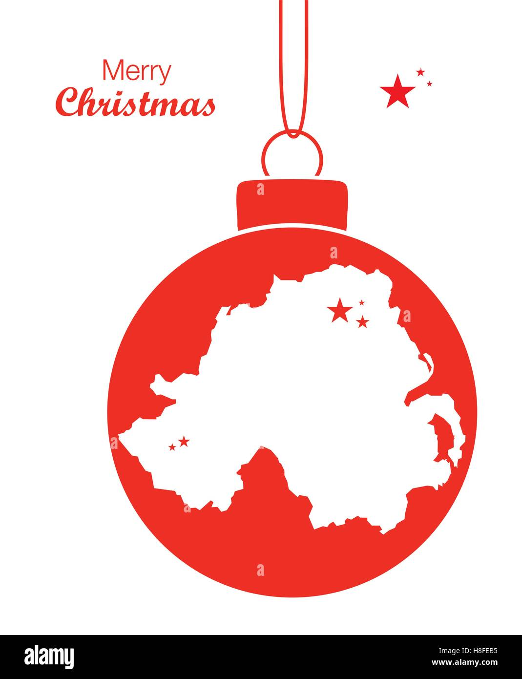 Ireland Christmas Stock Vector Images - Alamy