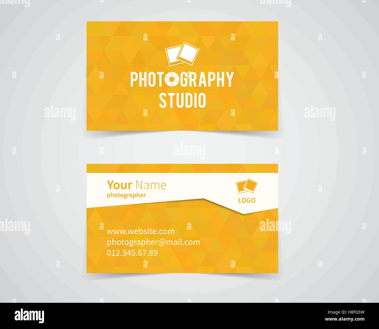 Modern Light Business Card Template For Photography Studio Unusual
