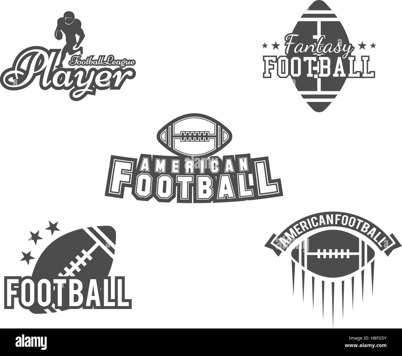 picture regarding Printable College Logos called Faculty rugby and american soccer employees, college or university badges