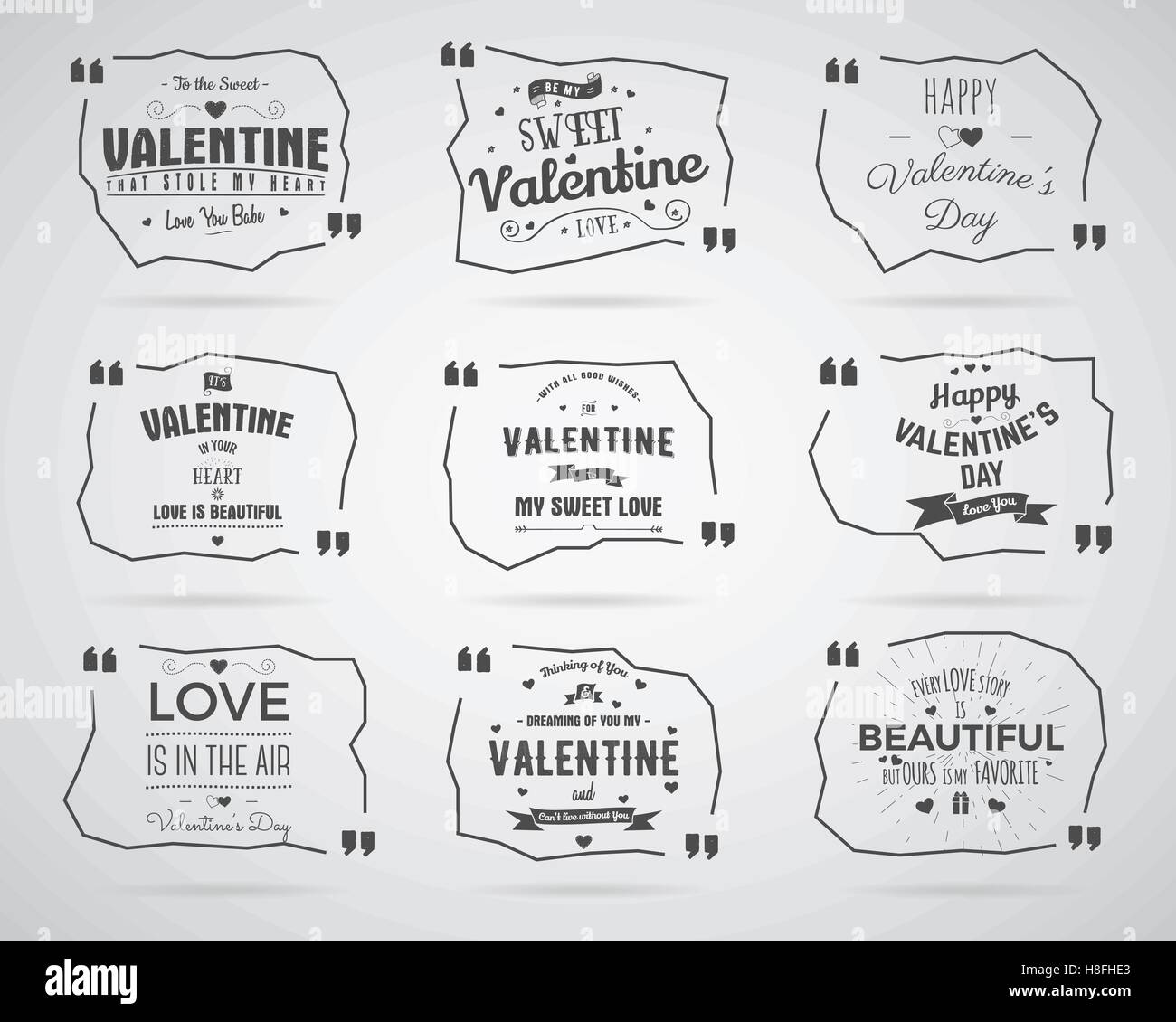 Overlay Word Valentines Day Card Stock Photos Overlay Word