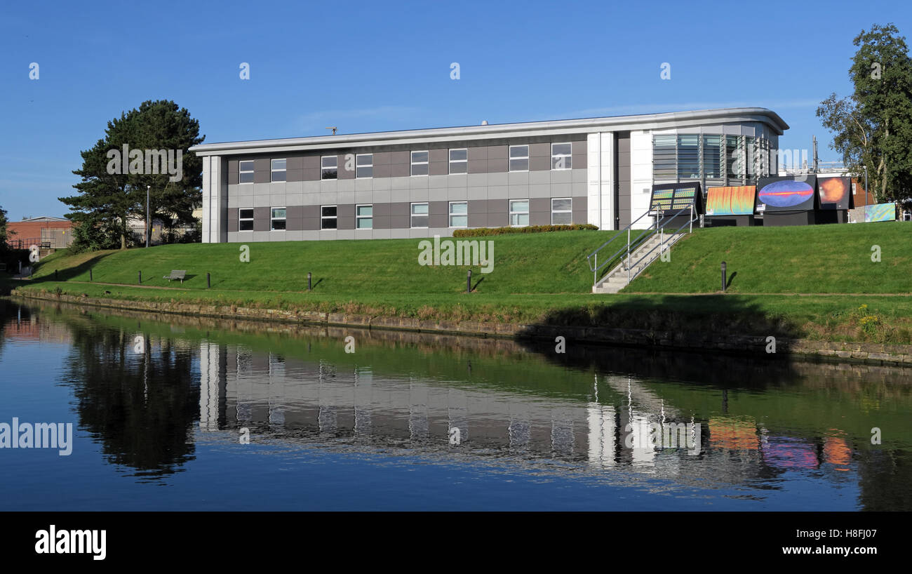 Daresbury research lab & research centre, Warrington, Cheshire, England, UK - Stock Image