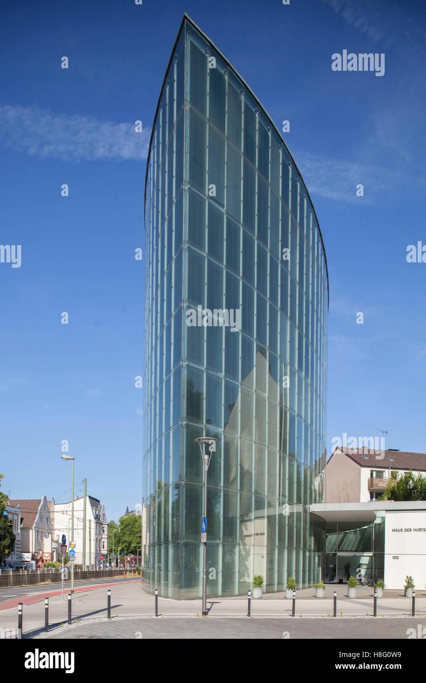 Haus der Wirtschaft, Duisburg, Ruhr area, North Rhine-Westphalia, Germany, Europe Stock Photo