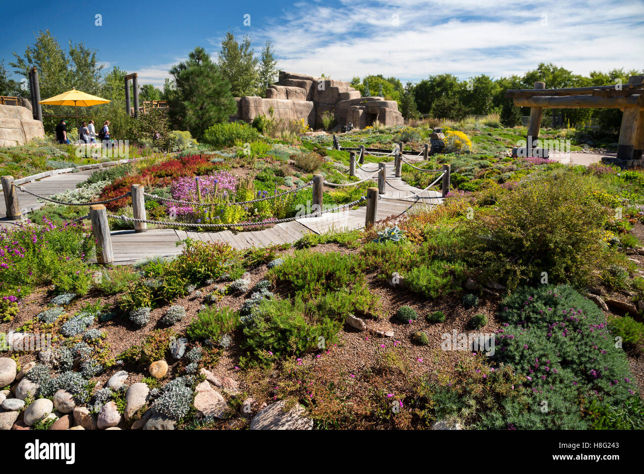 Denver, Colorado   The Childrenu0027s Garden At Denver Botanic Gardens.   Stock  Image