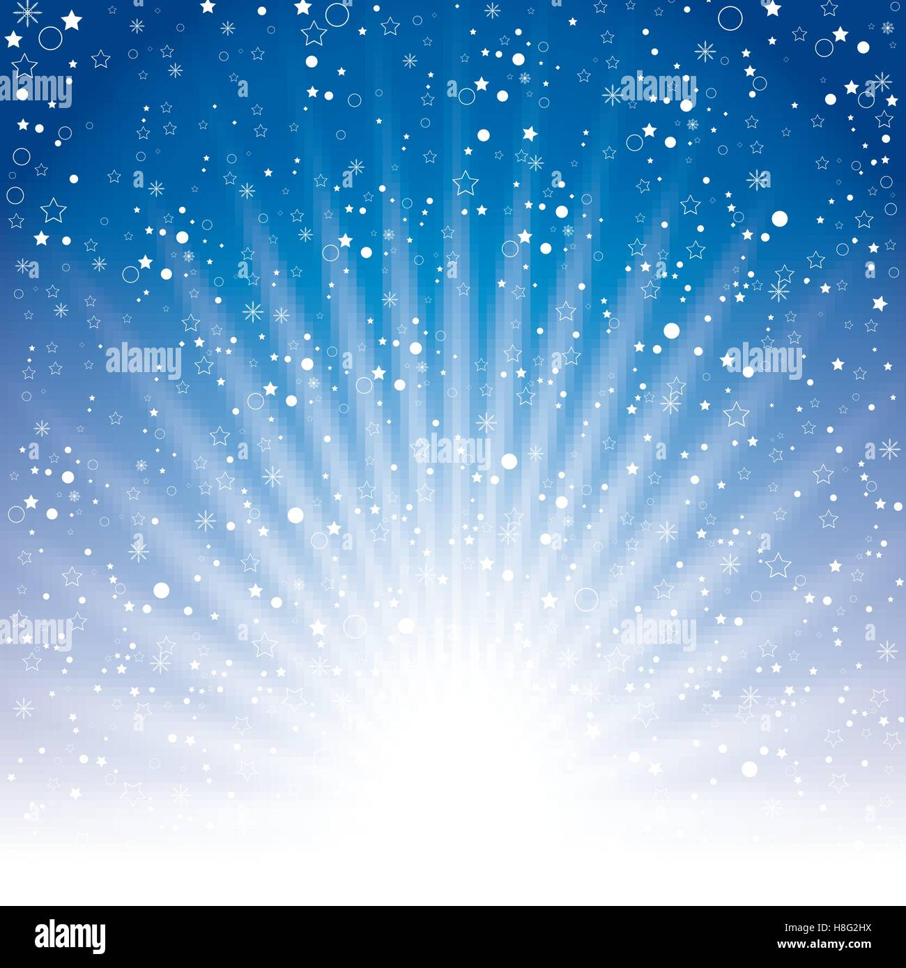 sky night background blue vector space abstract light star