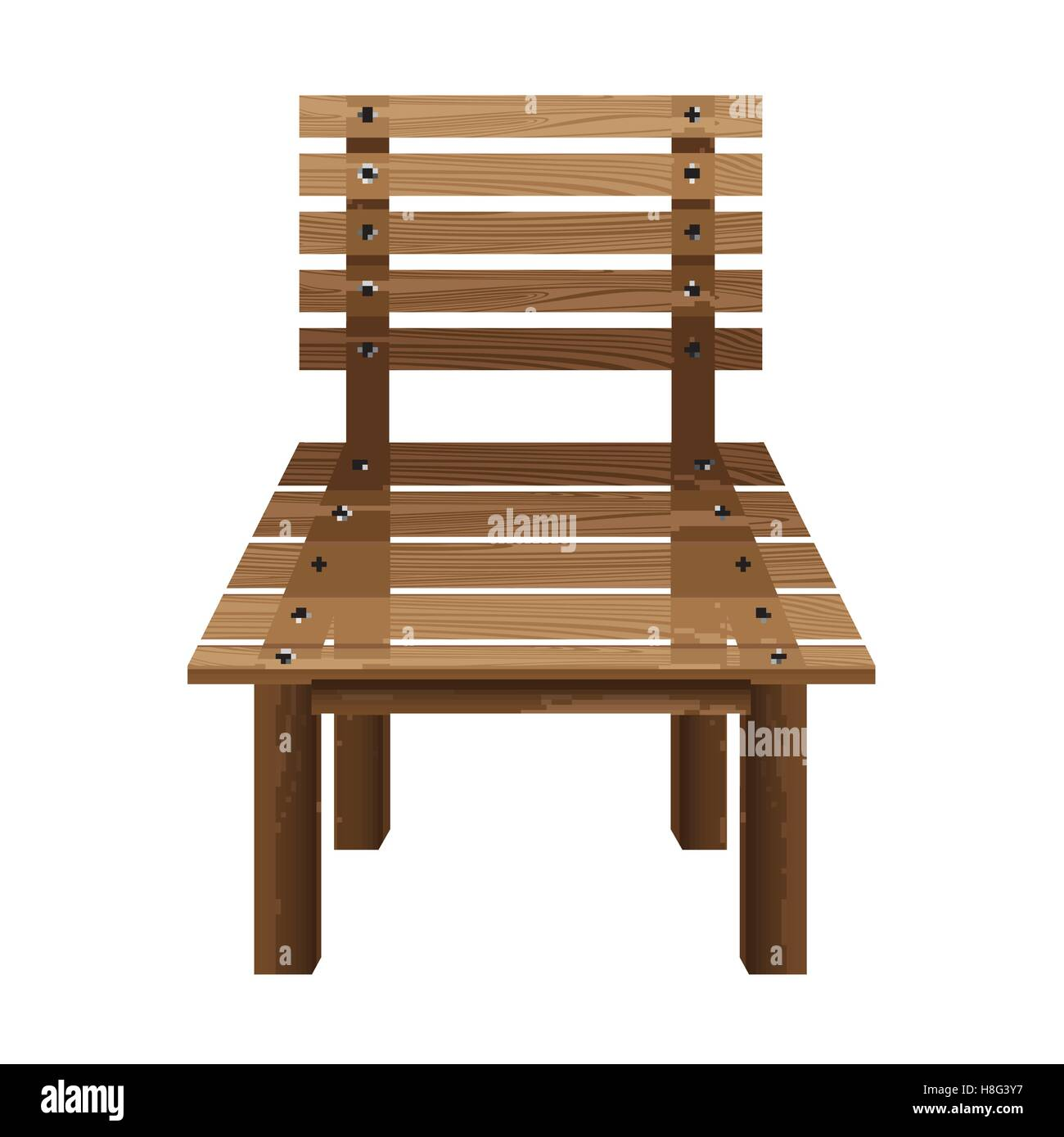 chair wooden vector stool isolated illustration object vintage retro furniture design decoration leg modern old  sc 1 st  Alamy & chair wooden vector stool isolated illustration object Stock ...