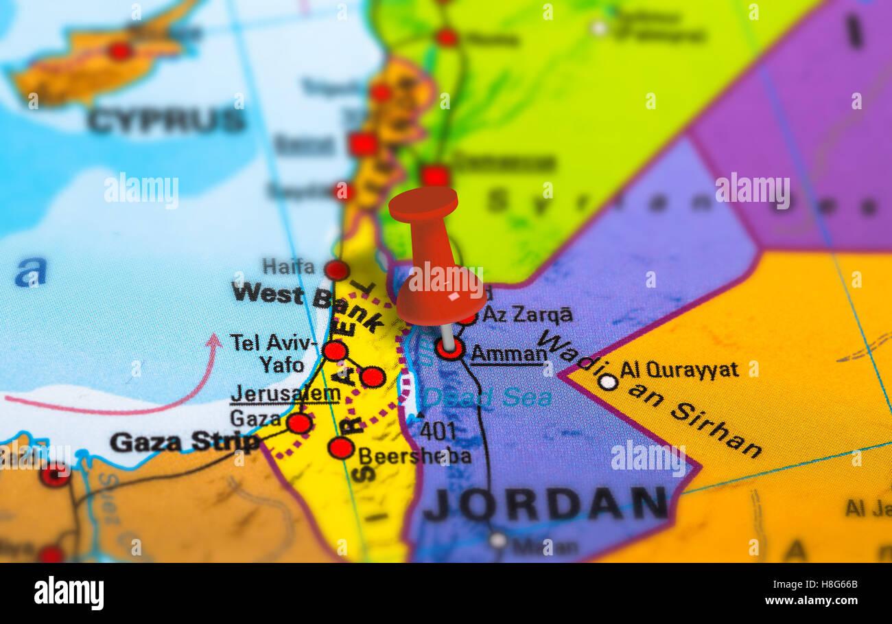 Amman Jordan Map Stock Photos & Amman Jordan Map Stock ... on map of moscow russia in english, map of beirut lebanon in english, map of prague czech republic in english, map of shanghai china in english, map of paris france in english, map of chengdu china in english, map of athens greece in english, map of istanbul turkey in english, map of barcelona spain in english, map of beijing china in english, map of vienna austria in english,