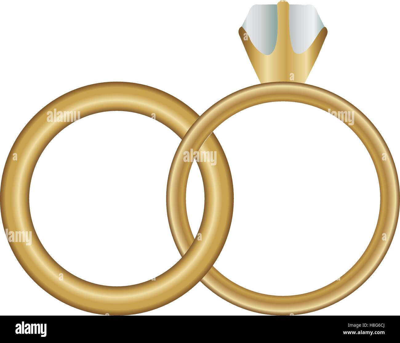 engagement ring icon image vector illustration design stock vector