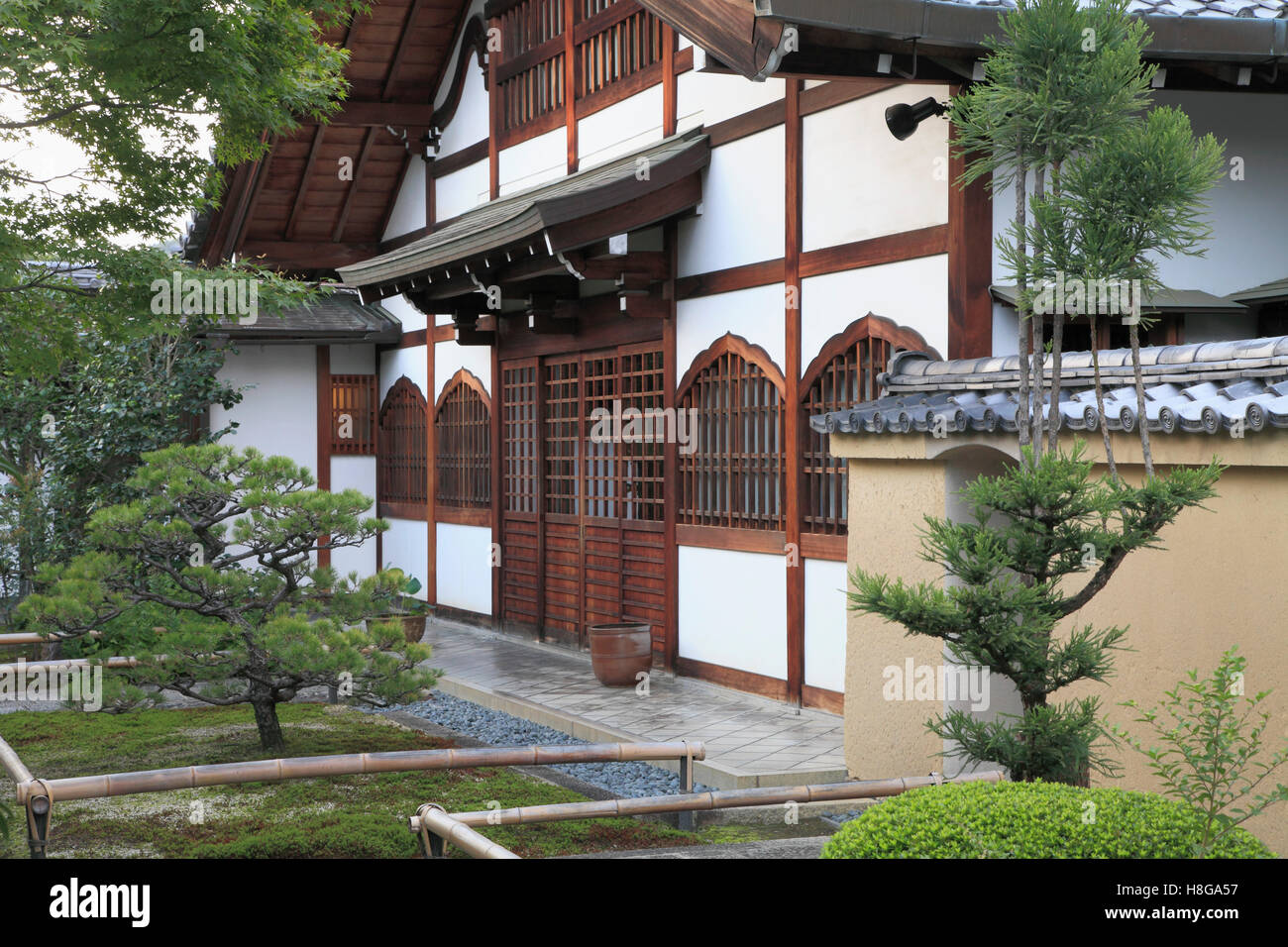 Japan, Kyoto, Daitoku-ji, Korin-in, buddhist temple, - Stock Image