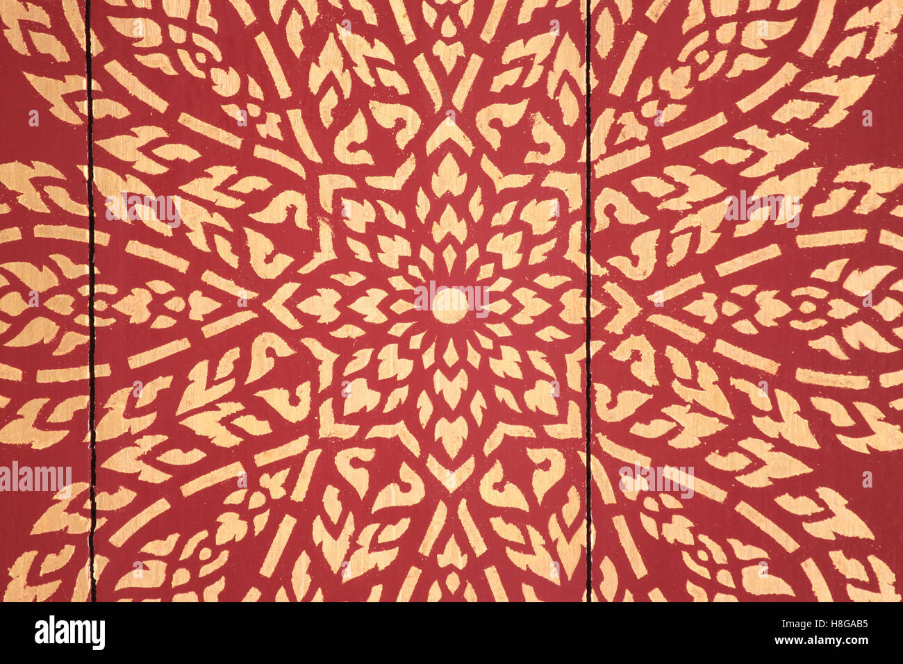 Art Flourishes In Thailand Thai Pattern Concept Of Arts And Crafts Stock Photo Alamy