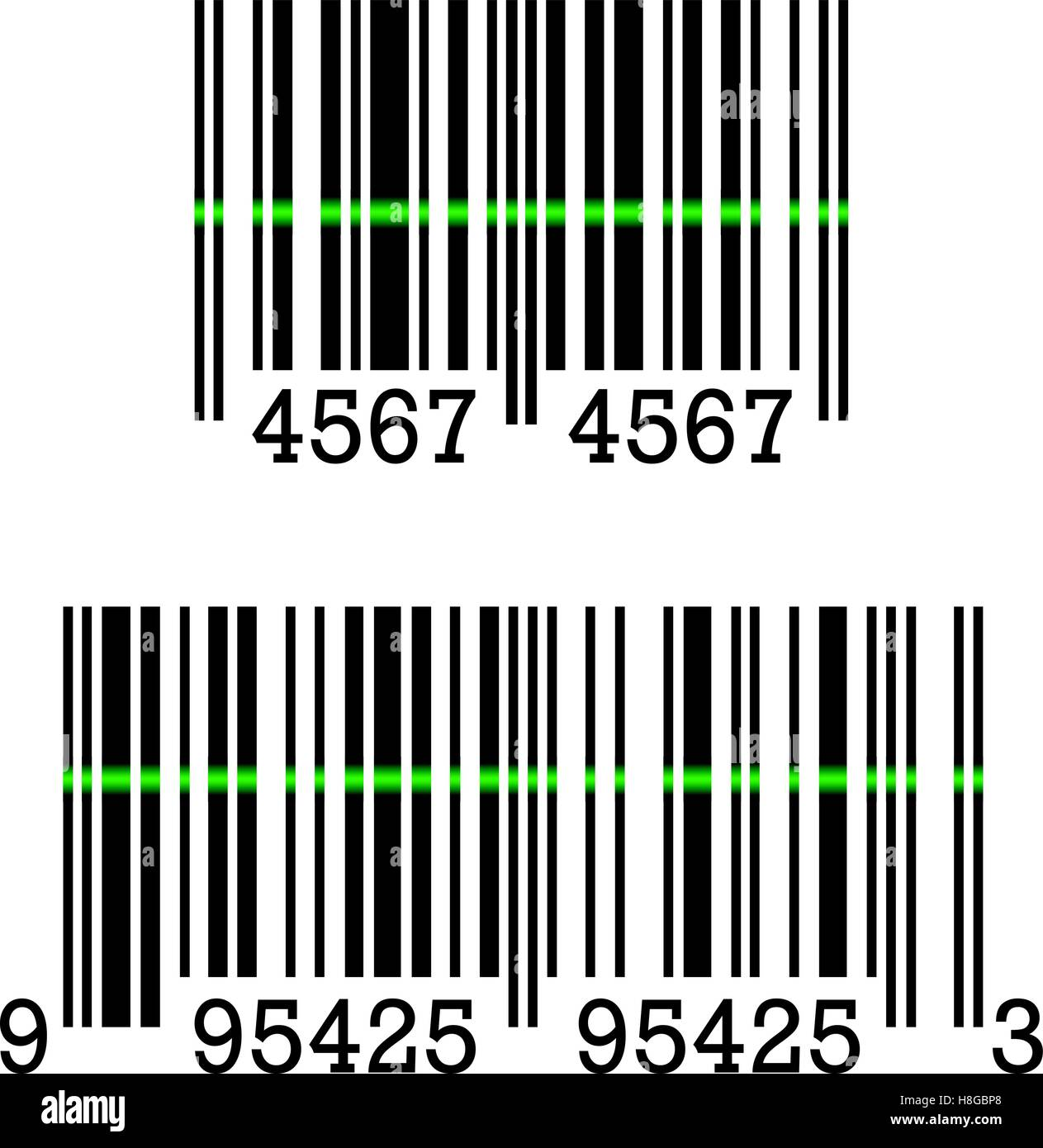 vector icon of a barcode sign vector illustration eps 10 stock