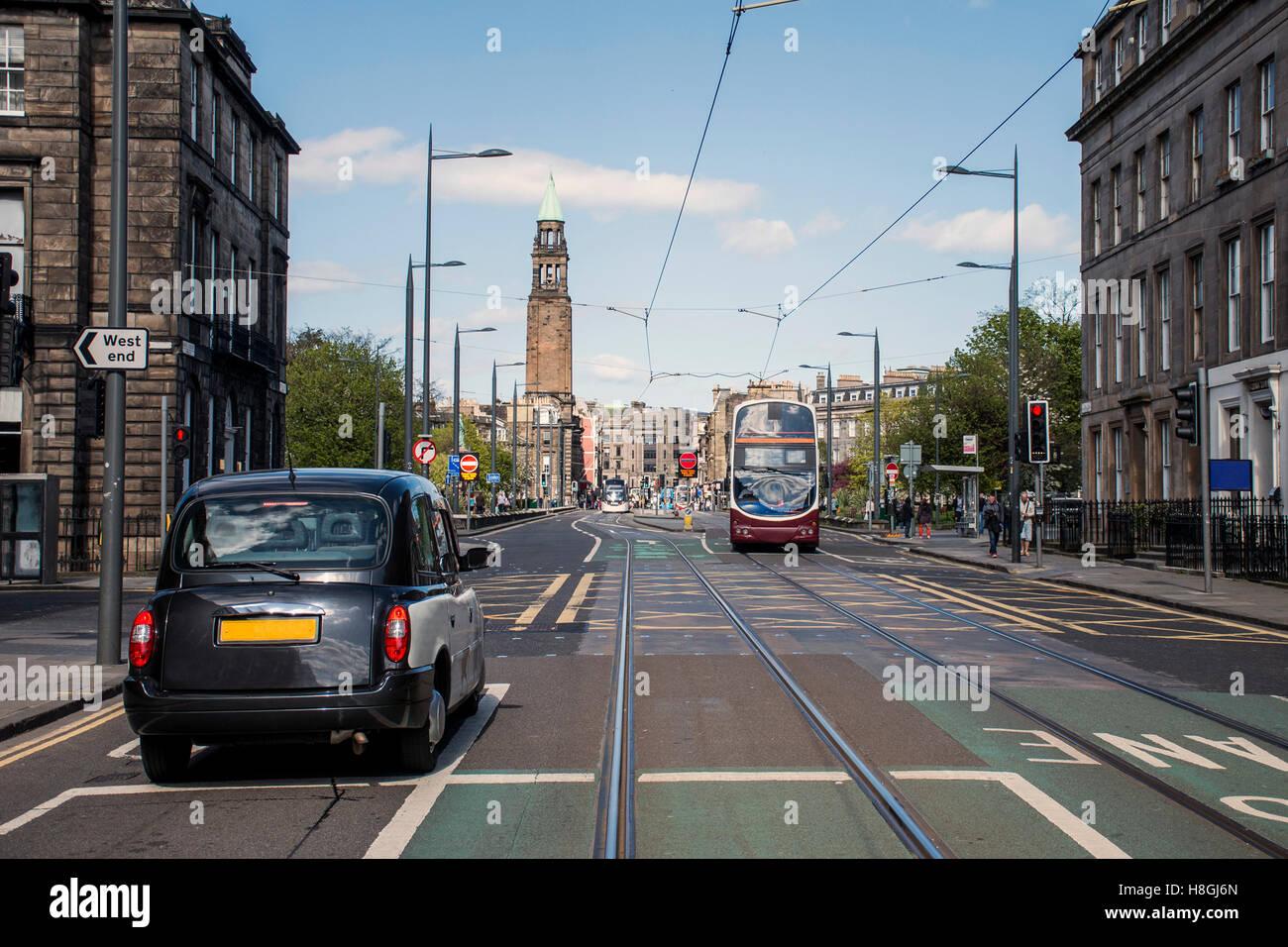 Scotland United Kingdom Edinburgh - Daily life and Taxi