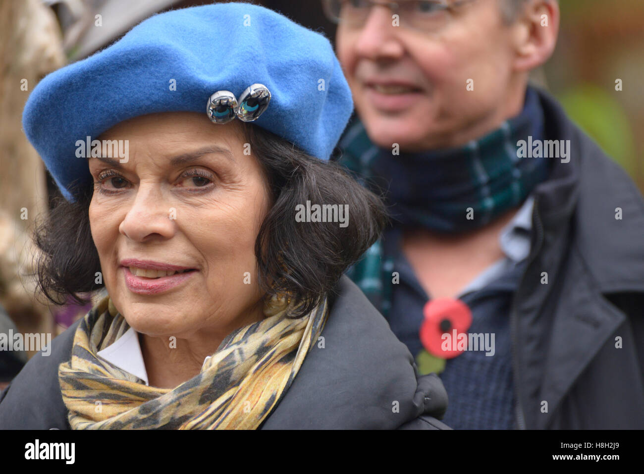 Manchester, UK. 12th Nov, 2016. Bianca Jagger, environmental campaigner, Founder and Chair of the Bianca Jagger - Stock Image