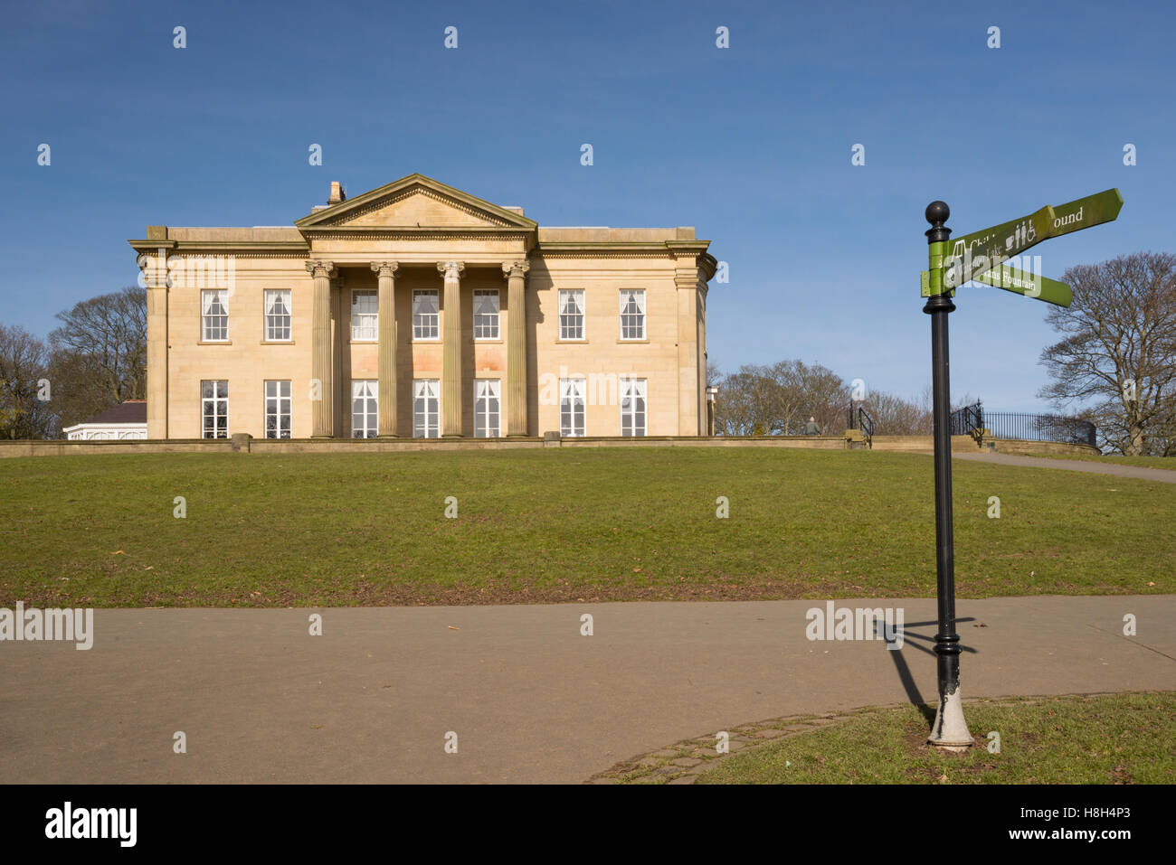 Roundhay Park in Leeds Stock Photo