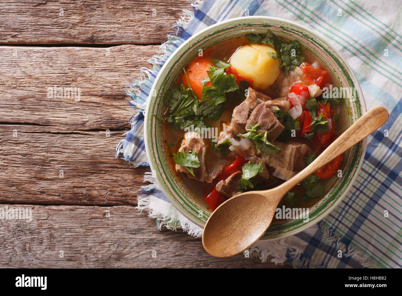 Mutton shurpa: recipe for classic cooking 42