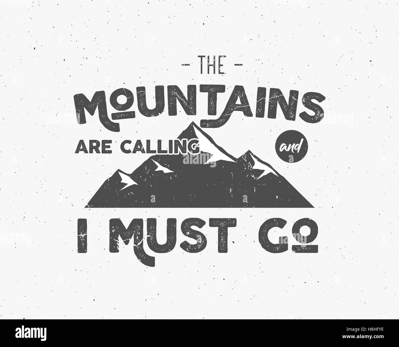 Outdoor inspiration background. Motivation mountain brochure quote ...