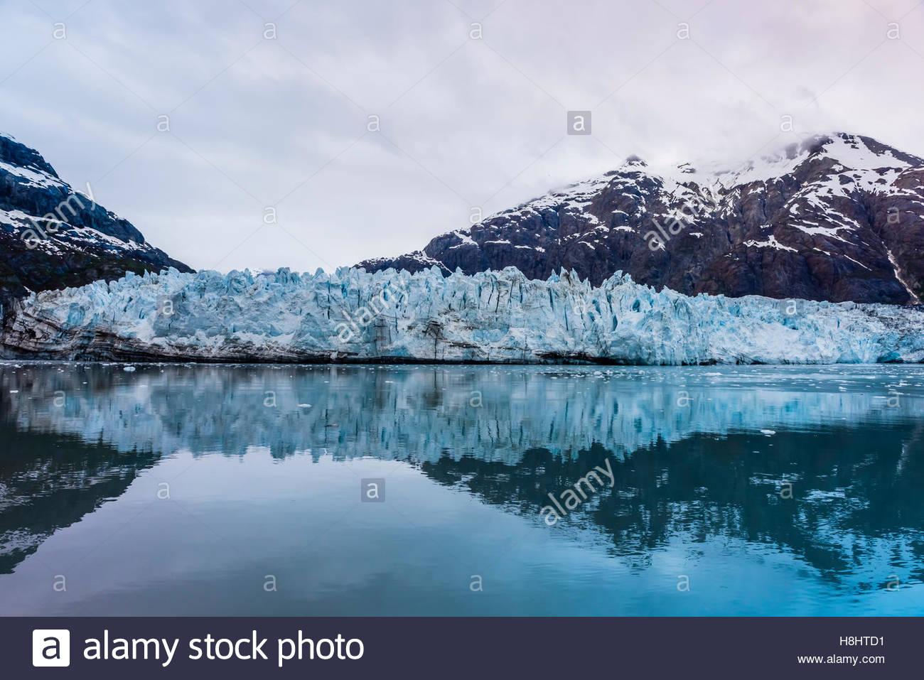 Margerie Glacier, Glacier Bay National Park, southeast Alaska USA. - Stock Image