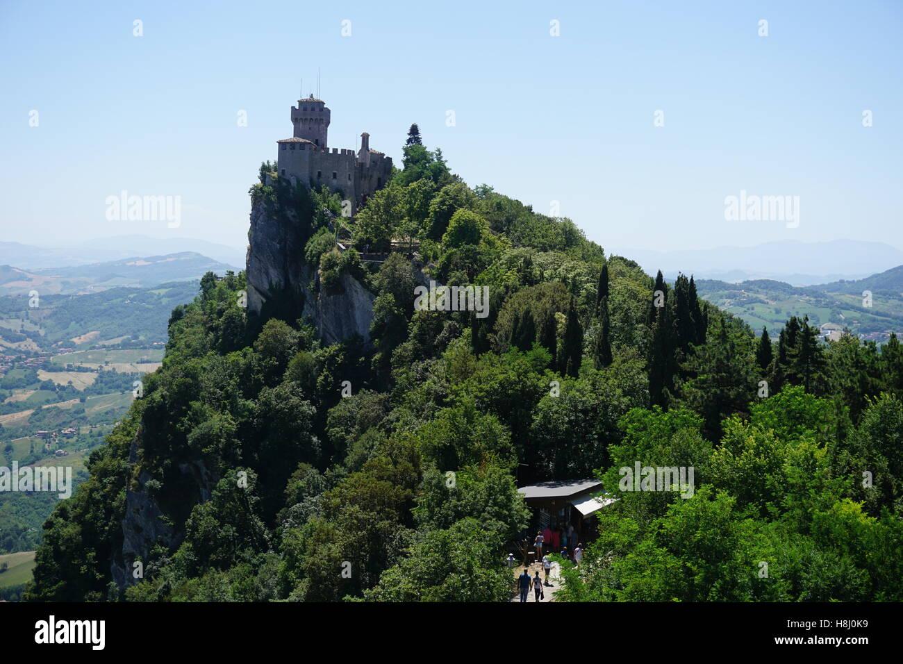 San Marino - Stock Image