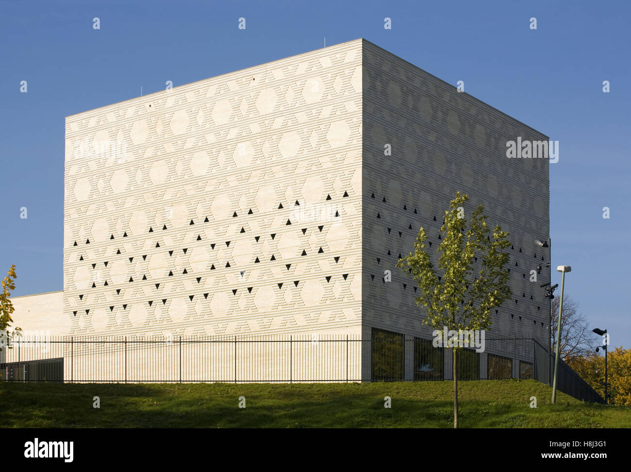 Germany,  Ruhr Area, Bochum, the synagogue. - Stock Image