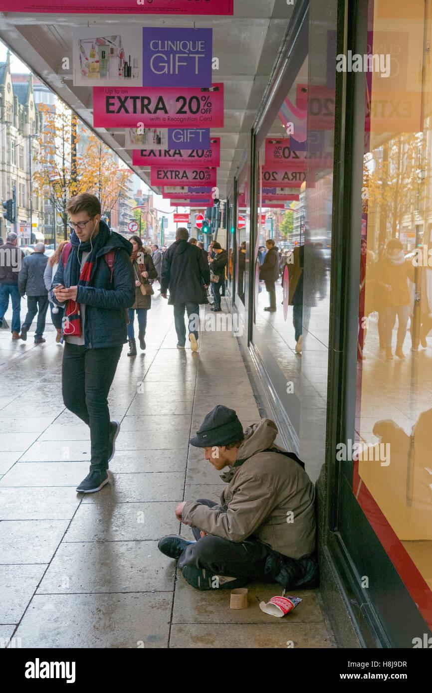 Homeless Person Begging Beggar Stock Photos & Homeless Person