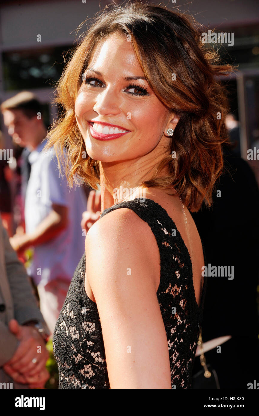 TV personality Melissa Rycroft attends The 2013 ESPY Awards at Nokia Theatre L.A. Live on July 17, 2013 in Los Angeles, - Stock Image