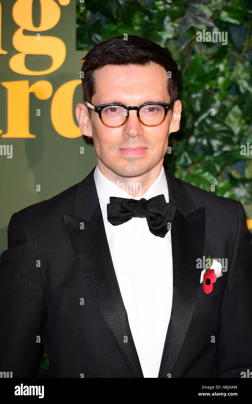 Erdem Moralioglu attending the The London Evening Standard Theatre Awards held at the Old Vic Theatre, London. PRESS - Stock Image