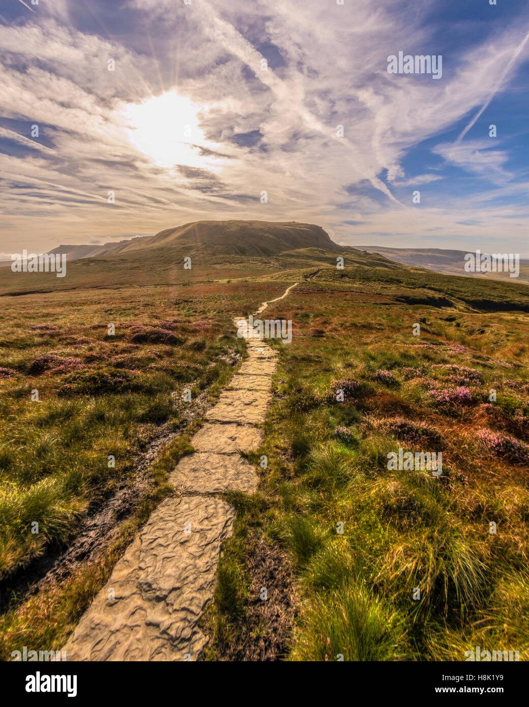 The Pennine Way - Stock Image