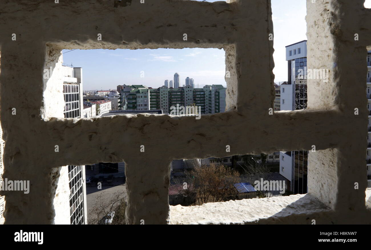 Grozny, Russia. 14th Nov, 2016. A view of the city centre. © Valery Matytsin/TASS/Alamy Live News - Stock Image