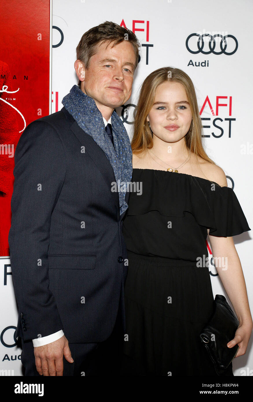 Caspar Phillipson at the AFI FEST 2016 Centerpiece Gala Screening of 'Jackie' held at the TCL Chinese Theatre - Stock Image