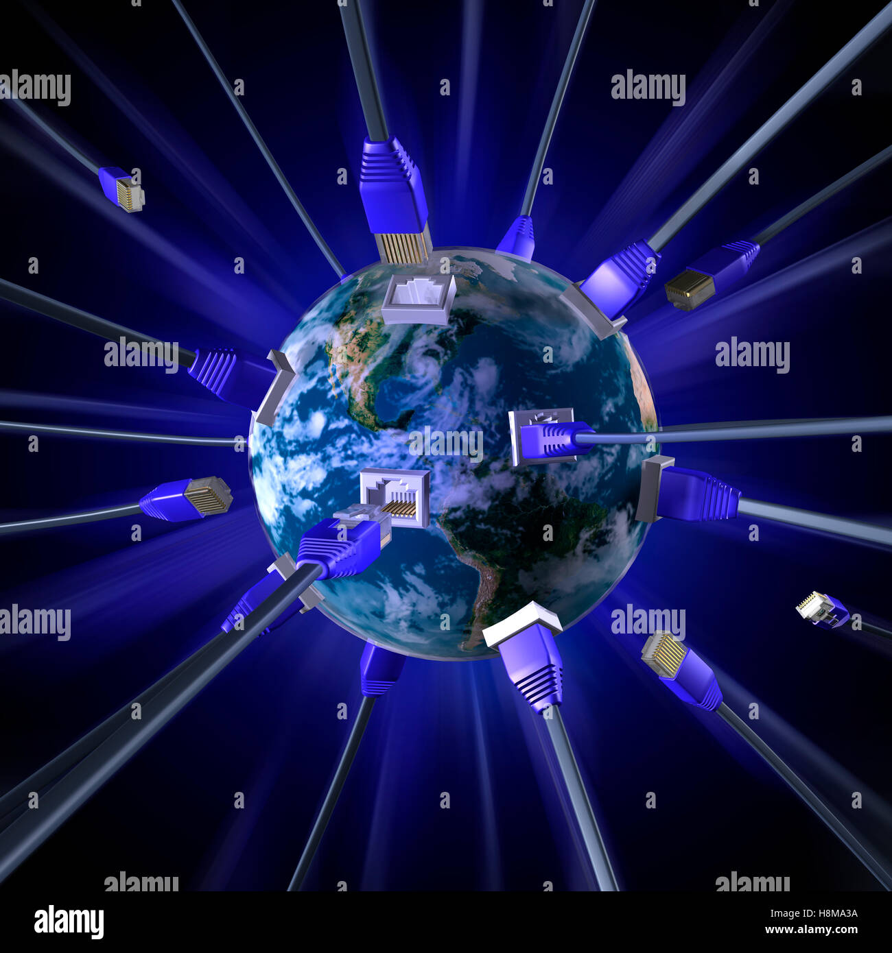 Concept Of Globalisation Stock Photos & Concept Of