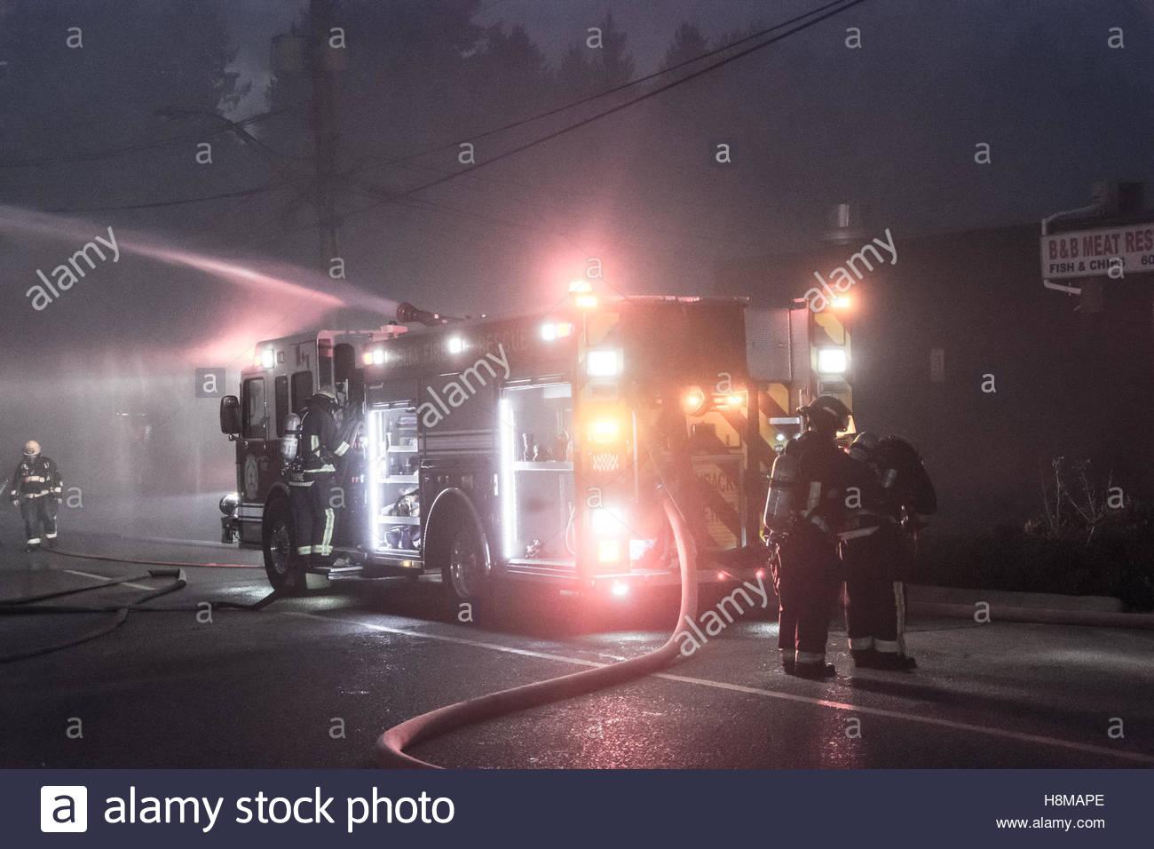 Fire engine - Stock Image