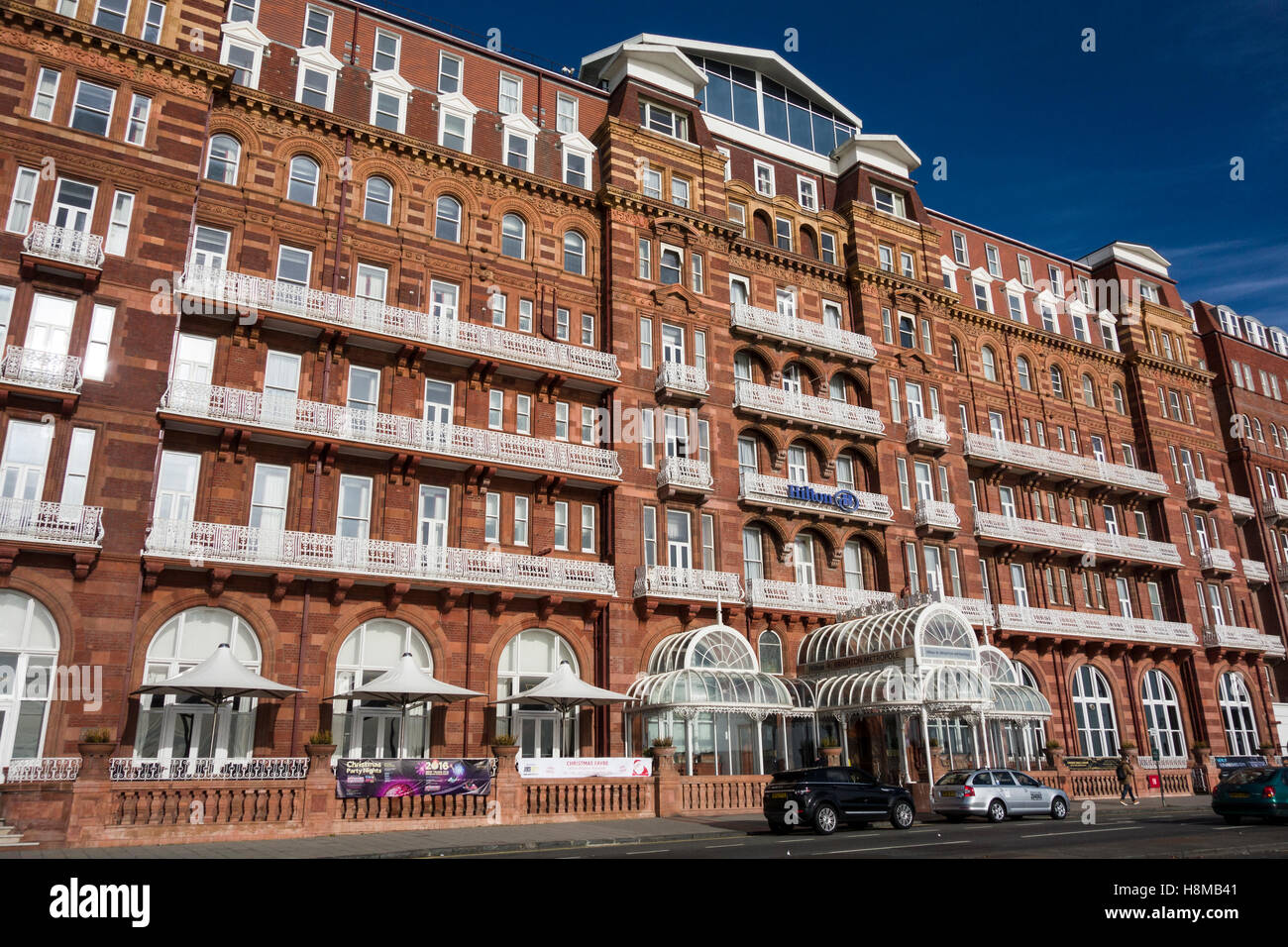 Hilton Brighton Metropole Hotel (built 1890), Brighton, Sussex, England UK - Stock Image