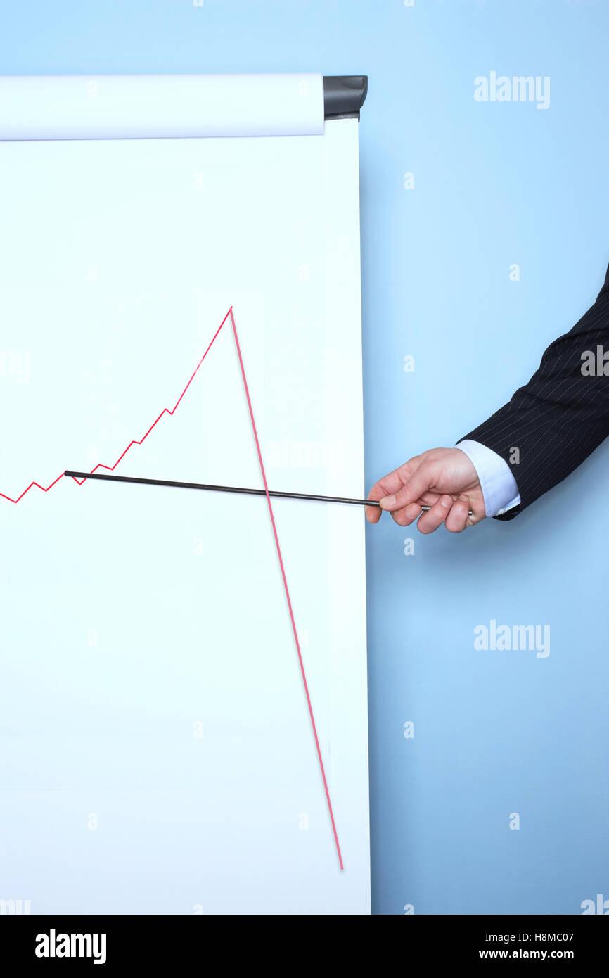 Sales Graph Decline Stock Photos Sales Graph Decline Stock