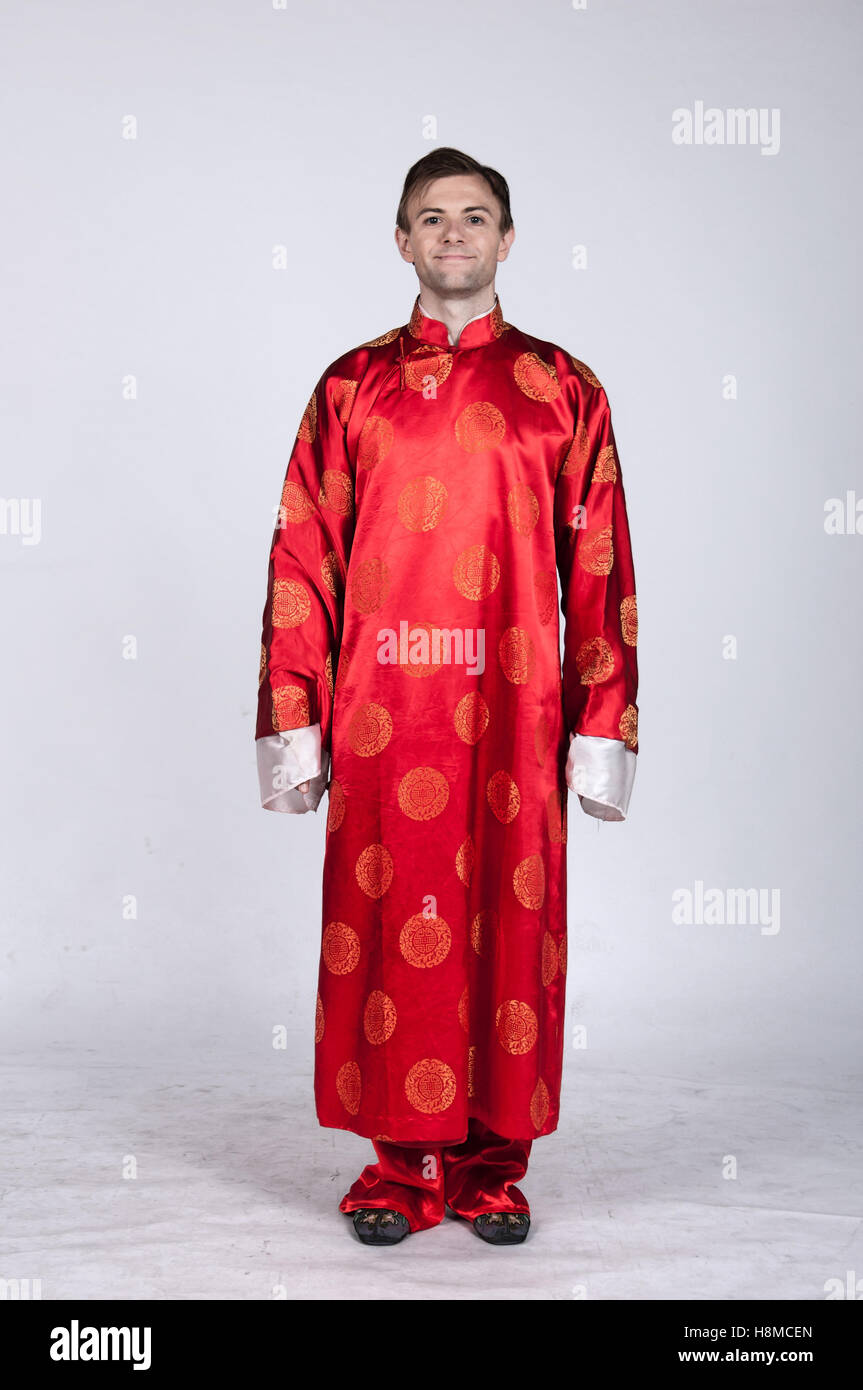 daf2285ce Chinese Costume Male & Chinese Style Coarse Old Man Costume Male ...