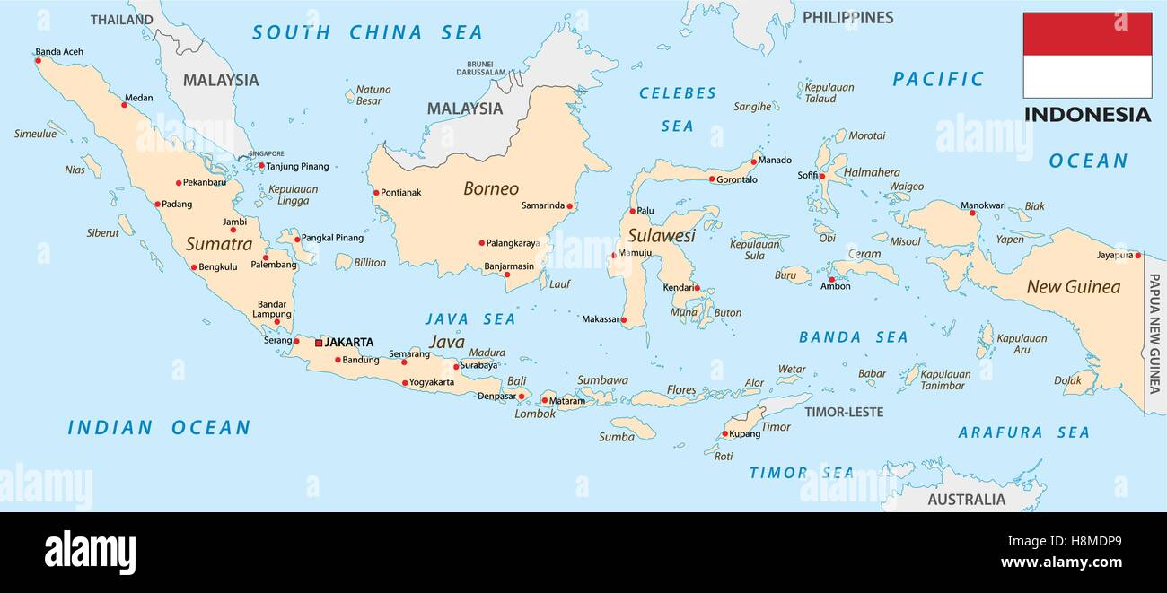 Indonesia Map Stock Photos Indonesia Map Stock Images Alamy