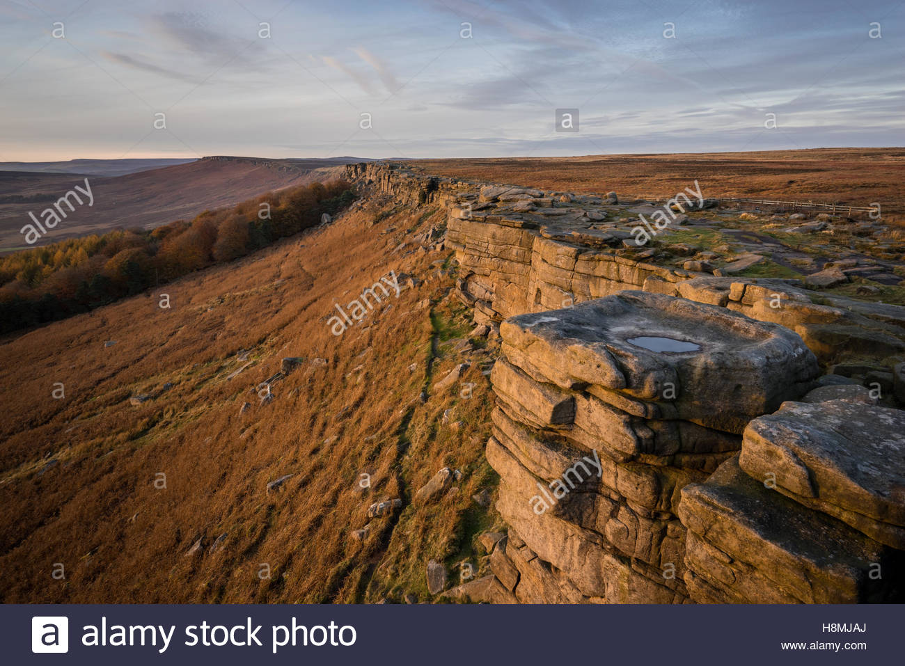 I popped up to Stanage Edge with a promising sky that looked like it may light up. Initially I planned on Carhead - Stock Image