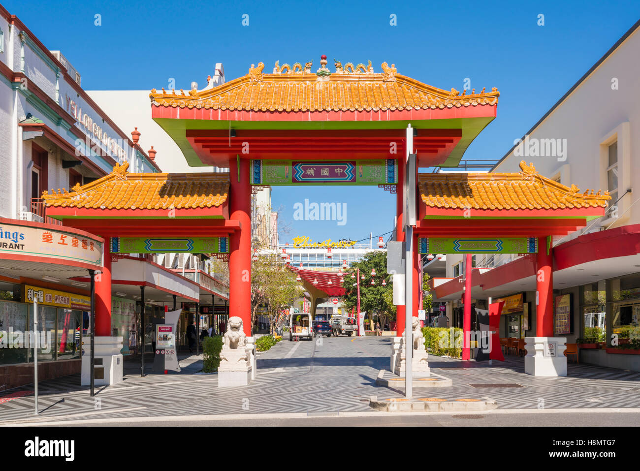 Chinatown in Brisbane, Australia - Stock Image