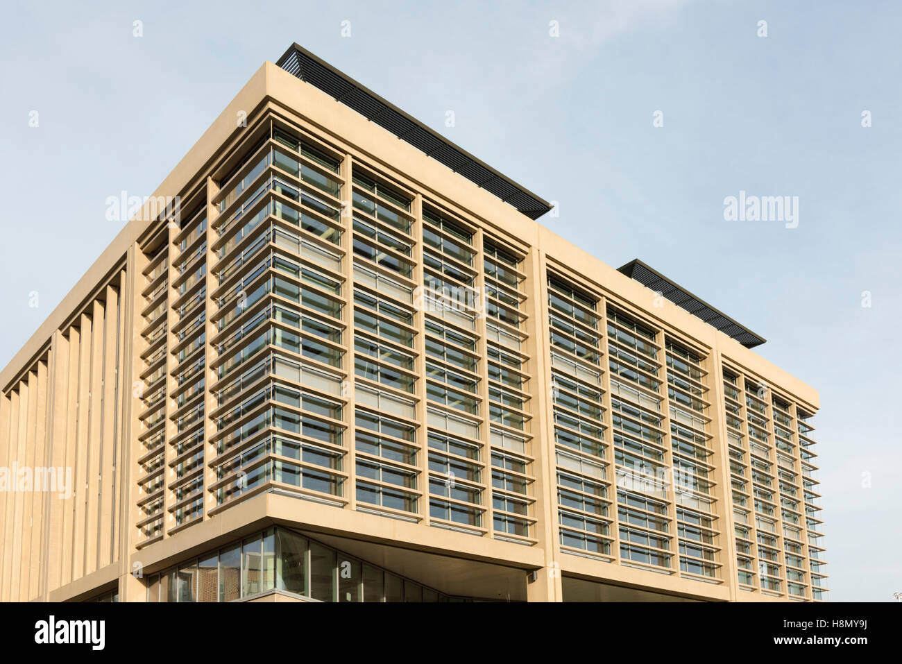 The Microsoft Office building in Station Road Cambridge UK - Stock Image